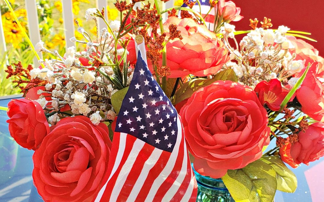 Easy 4th of July Decor on a Budget