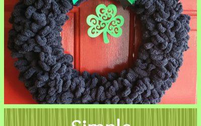 Simple St Patrick's Day Decor