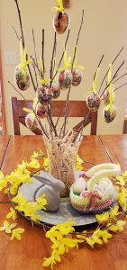 easter egg tree Easter decorating ideas