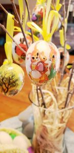 easter eggs on tree Easter decorating ideas