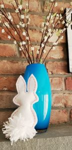 felt bunny  Easter decorating ideas