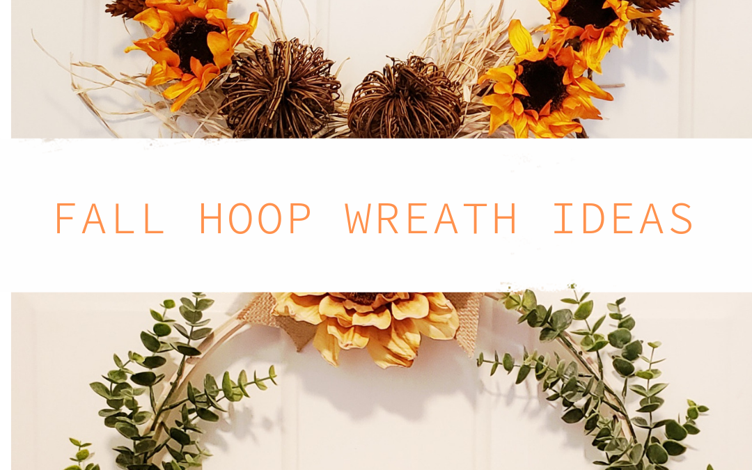 Fall Hoop Wreath Ideas