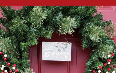 Simple Evergreen Christmas Wreath
