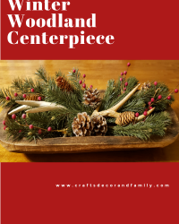 Winter Woodland Centerpiece
